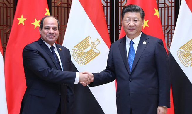 China to advance comprehensive strategic partnership  with Egypt