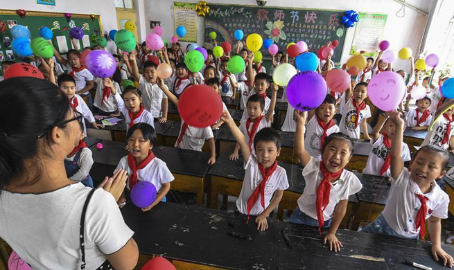 Upcoming Teachers' Day celebrated in China