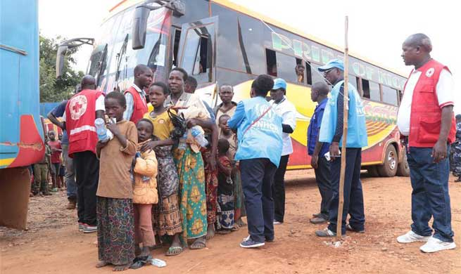 Burundi receives 1st batch of refugees from Tanzania