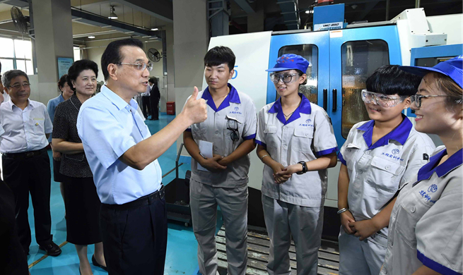"Premier Li stresses vocational education to boost ""Made in China"" brand"