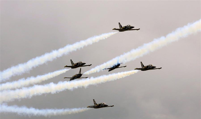 40th International Sanicole Airshow held in Belgium