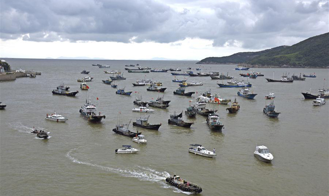 East China's Zhejiang braces for Typhoon Talim