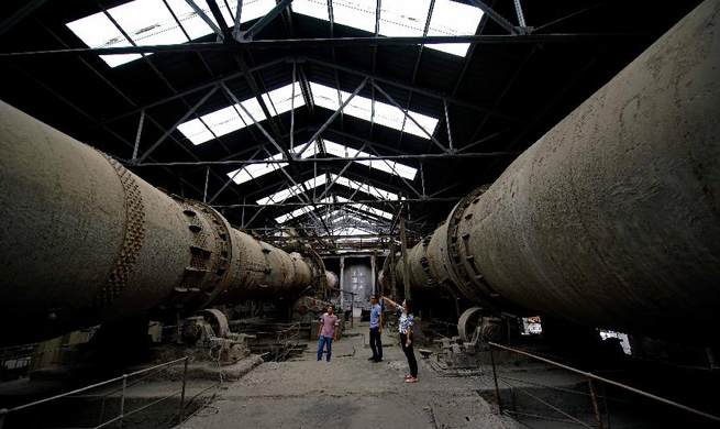 In pics: Qixin cement industrial museum in N China's Hebei