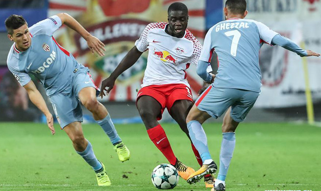 Monaco draw with Leipzig in UEFA Champions League