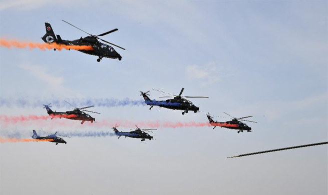 4th China Int'l Helicopter Expo opens in Tianjin
