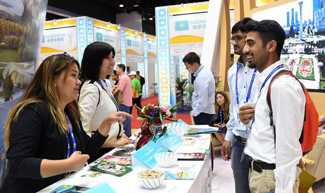 Visitors tour 14th China-ASEAN Expo in Nanning