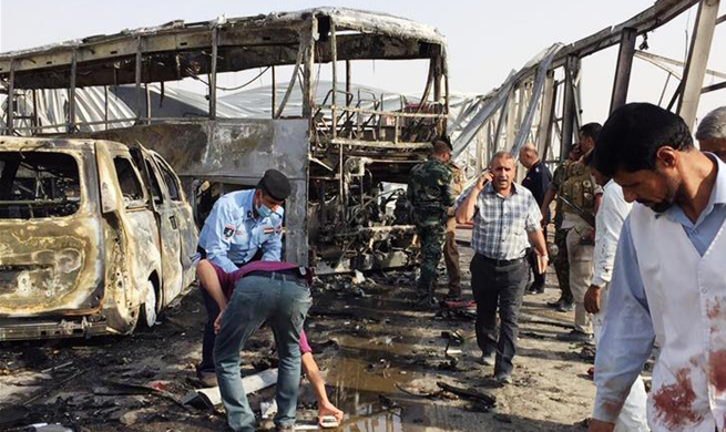 Twin deadly attacks occur in southern Iraq