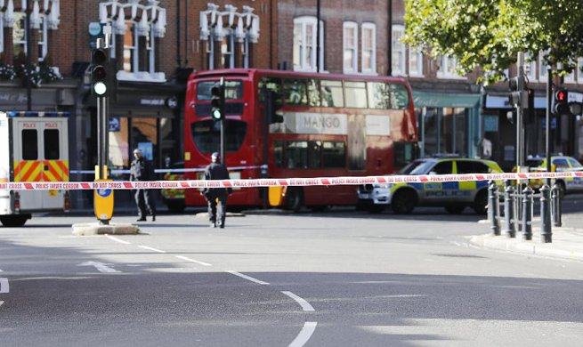 London subway station blast being treated as terrorist incident