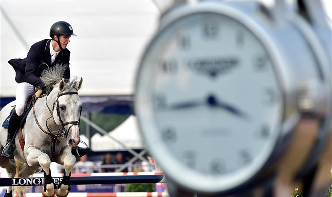 Highlights of Longines Equestrian Showjumping Grand Prix in Tianjin