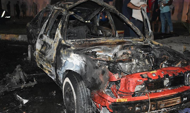 3 killed, 9 wounded in suicide car bombing in Kirkuk, Iraq