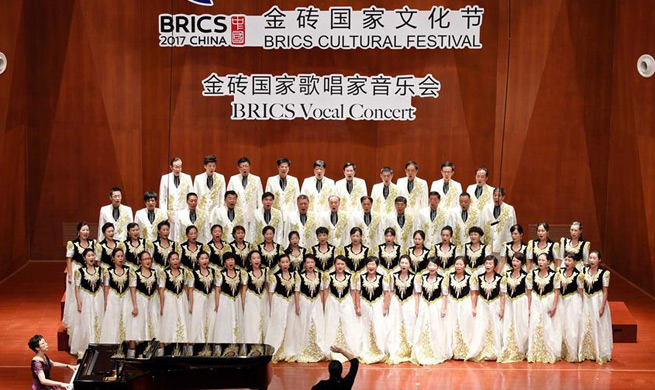 Concert of BRICS Cultural Festival held in SE China