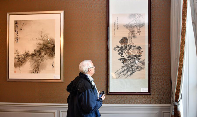Chinese embassy in France opens for first time in European Heritage Days