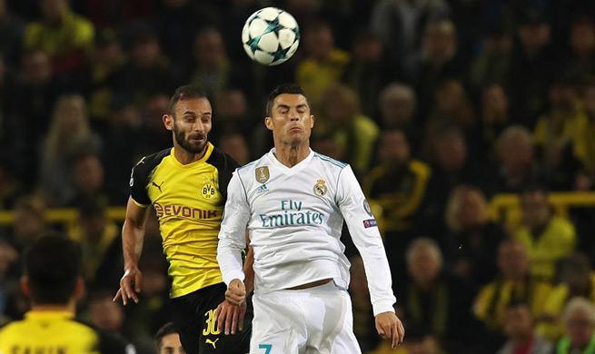 Real Madrid wins 3-1 against Borussia Dortmund in UEFA Champions League