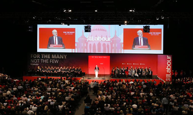 Labour Party's Annual Conference closes in Brighton, Britain