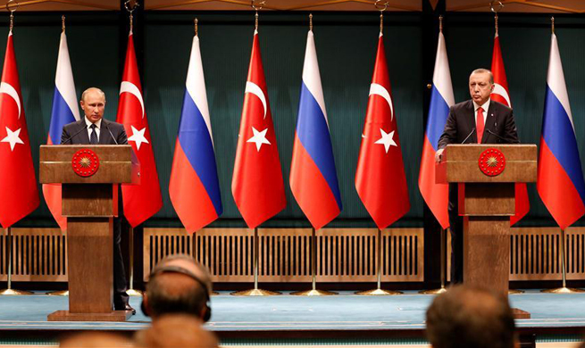 Erdogan says Turkey, Russia uphold territorial integrity of Iraq, Syria