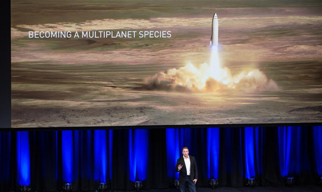 SpaceX reveals plan for manned journey to Mars by 2024