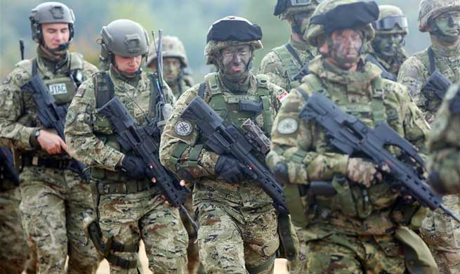 "Military exercise ""Udar 17"" held in Croatia"