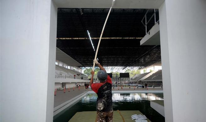 Preparation work underway for 2018 Asian Games in Jakarta