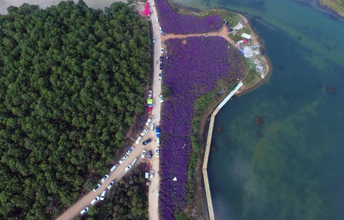 Scenery of Longfeng bay scenic spot in SW China's Yunnan