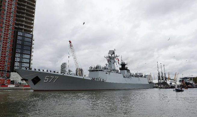 Chinese naval escort fleet concludes friendly visit to Britain