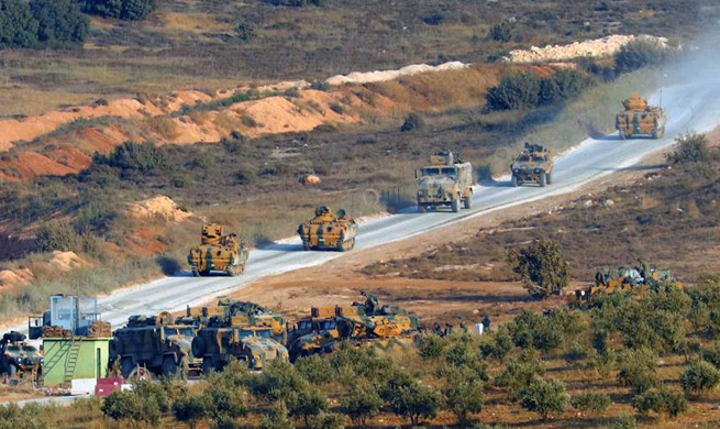 Turkish troops cross border into Syria's Idlib