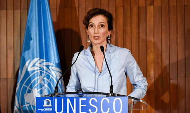 France's Audrey Azoulay nominated as candidate for next UNESCO chief
