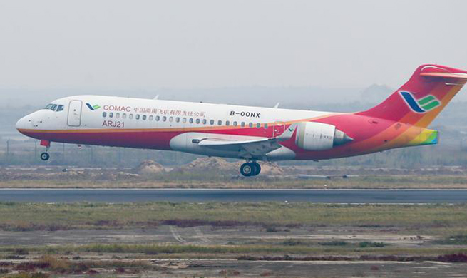 Domestically-produced jetliner with BeiDou navigation system completes test flight