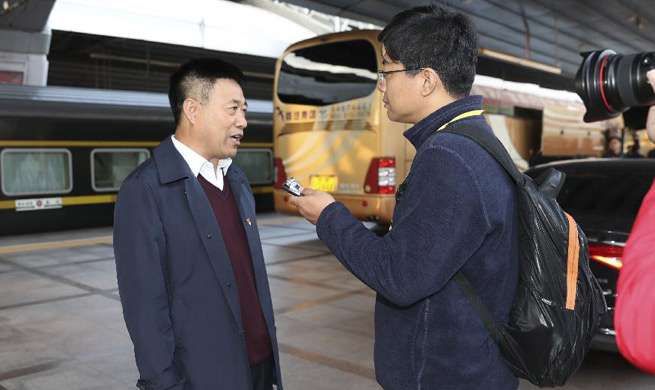 Delegates of Heilongjiang Province to 19th CPC National Congress arrive in Beijing