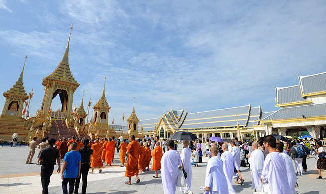 100,000 people expected to visit daily royal crematorium in Thailand