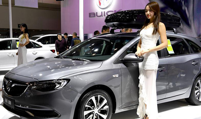 Int'l auto show opens in Zhengzhou, central China