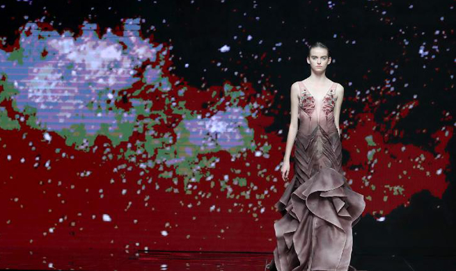 Highlights of China Fashion Week in Beijing