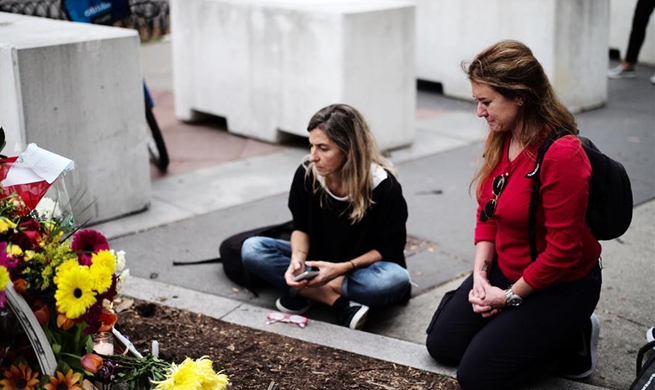 People mourn victims of truck attack in New York