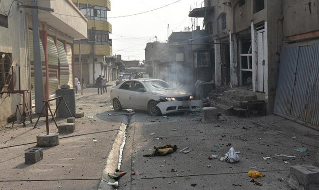 5 killed in 2 suicide bomb attacks in Iraq's Kirkuk