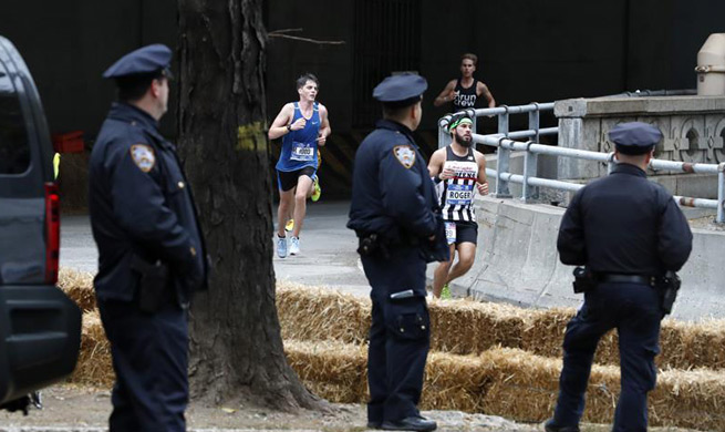 New York City Marathon held in tight security in wake of terrorist attack