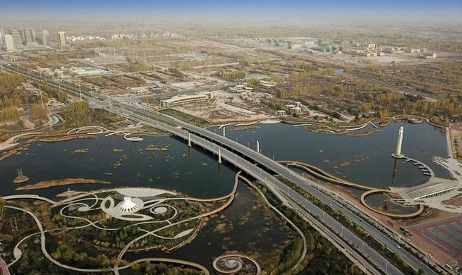 A look at city landscape of Kashgar, NW China's Xinjiang
