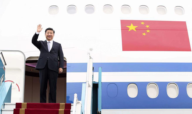 Chinese president arrives in Hanoi for state visit