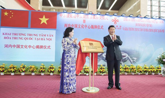 President Xi inaugurates Vietnam-China Friendship Palace