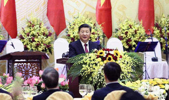 Xi calls for advancing of China-Vietnam ties