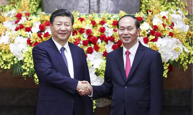 Xi calls on China, Vietnam to enhance high-level strategic communication