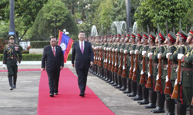 China, Laos to build community of shared future with strategic importance