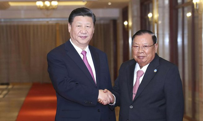 Xi meets Bounnhang again on historic, fruitful visit to Laos
