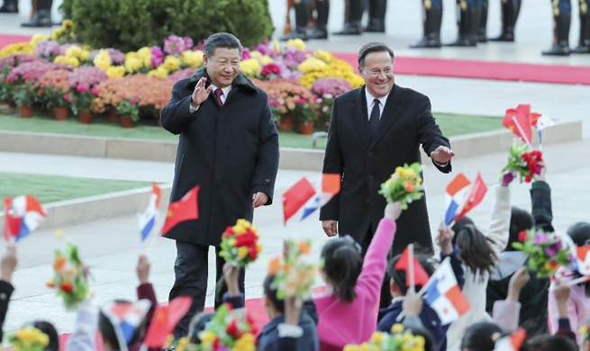 """China's relations with Panama """"turn over a new leaf"""": Xi"""