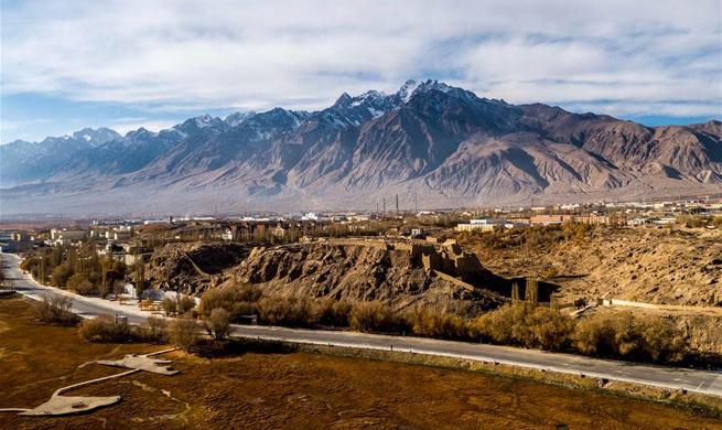 Scenery of Pamir Plateau in China's Xinjiang