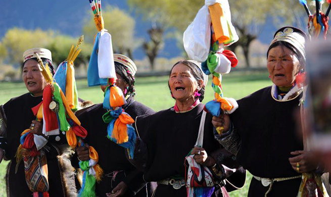 Tibetans celebrate Kongpo New Year