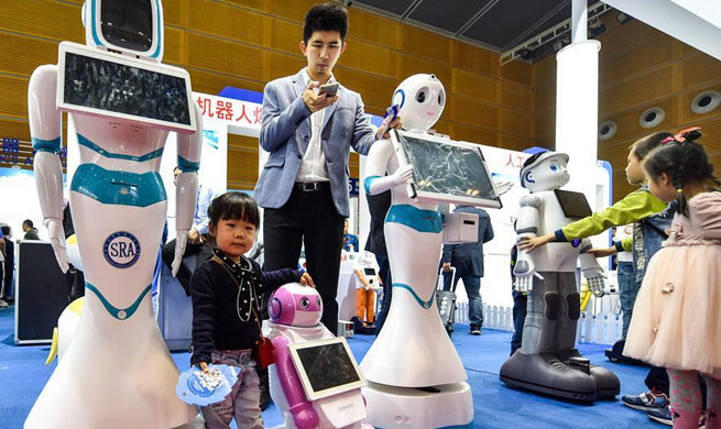 Hi-tech Fair held in Shenzhen, China's Guangdong