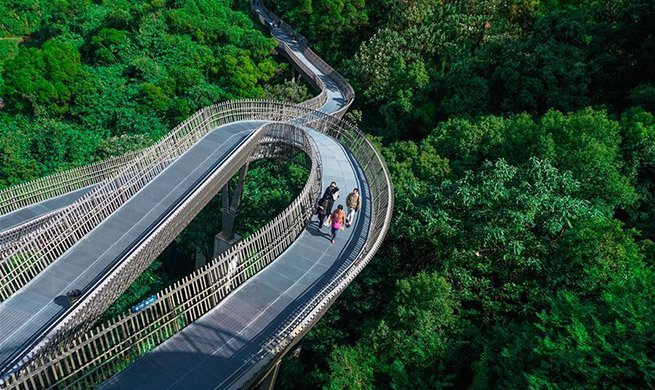 "In pics: ""Fudao"" skywalk in SE China's Fujian"
