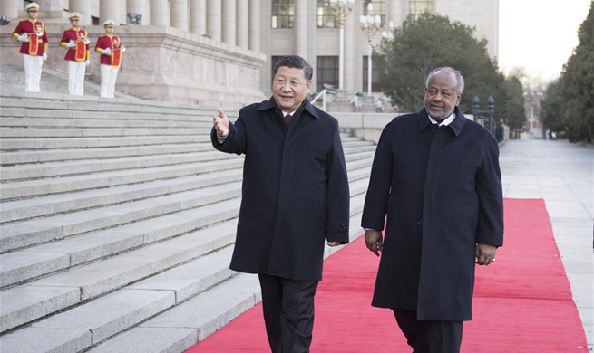 China, Djibouti agree to establish strategic partnership