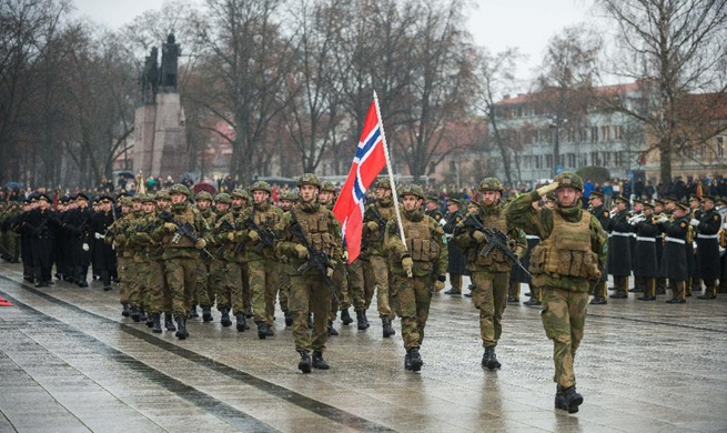 Lithuania celebrates Armed Forces Day in Vilnius