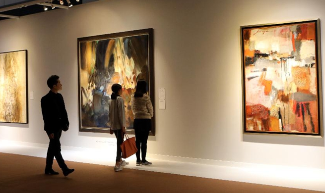 Christie's autumn auctions held in Hong Kong