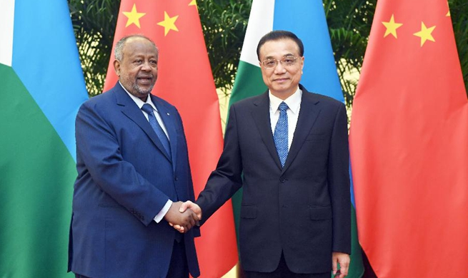 Chinese premier encourages investment in Djibouti